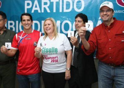 Candidatos Primaria Presidencial 2014